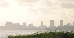 Die Skyline von Abidjan, Côte d'Ivoire